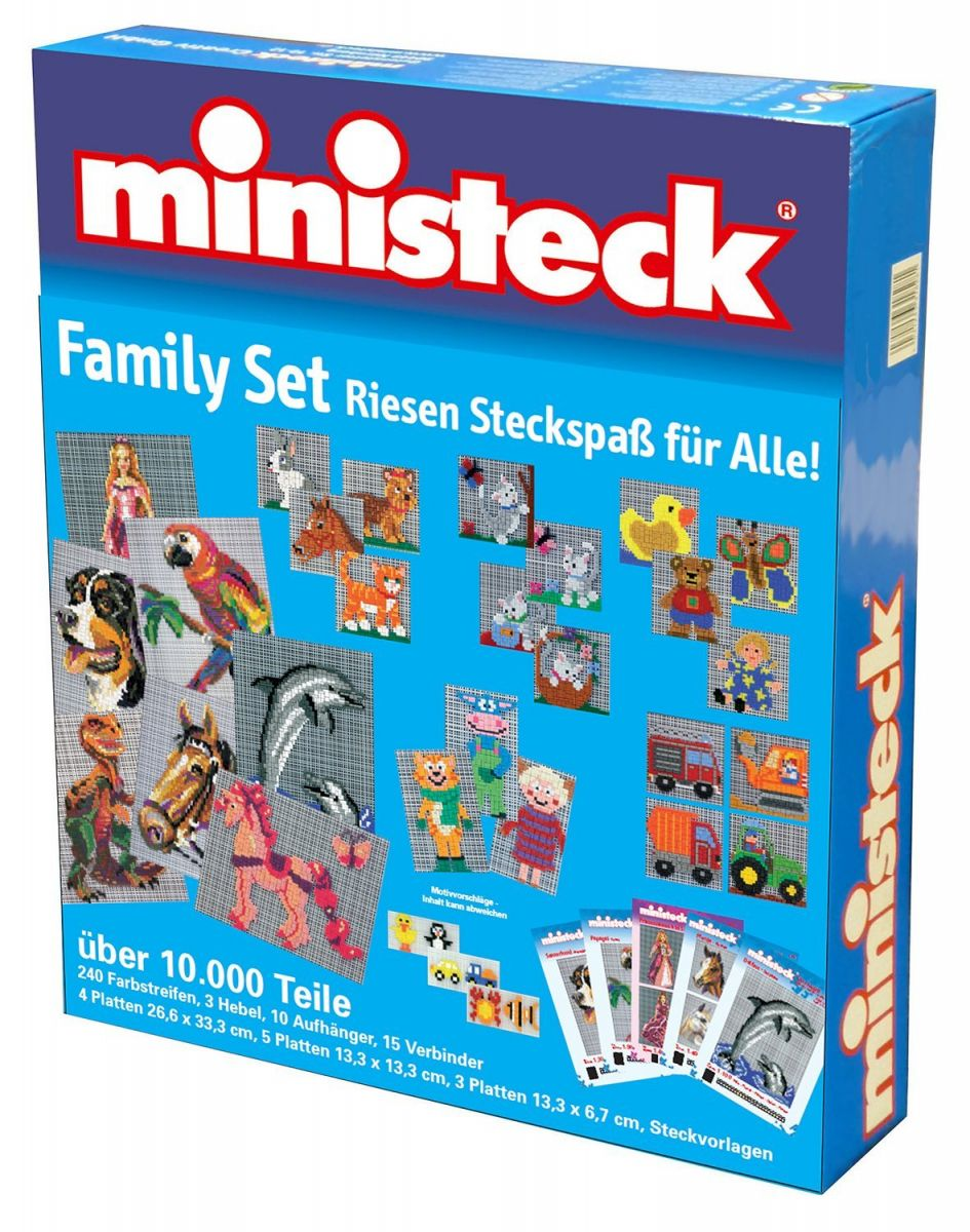 Ministeck Familiebox (> 10000 delig)