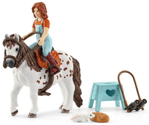 Schleich Horse club Mia en Spotty