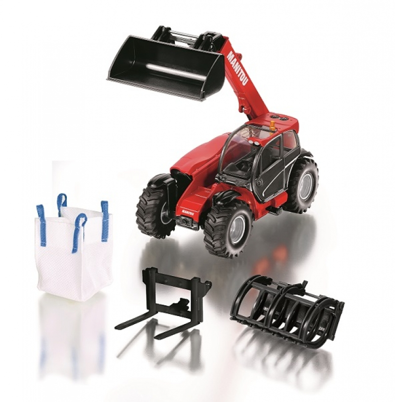 Siku Manitou telescoop lader inclusief accessoires